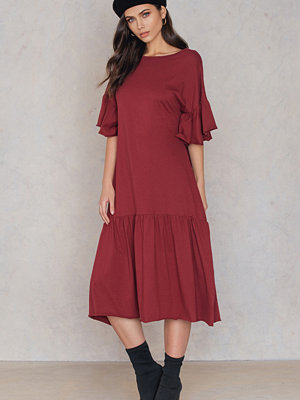 SheIn Trumpet Sleeve Dress