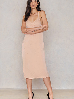 NA-KD Party Beaded Slip Dress - Festklänningar