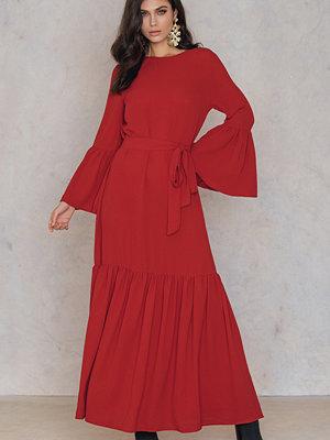 SheIn Ruffle Hem Long Dress