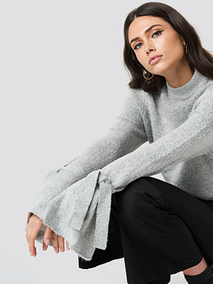 Rut & Circle Vera knot knit grå