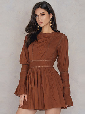 Free People Victorian Waisted Mini Dress
