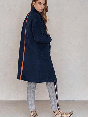 Trendyol Stripe Back Collar Coat