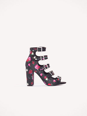 NA-KD Shoes Multi Buckle High Heels multicolor