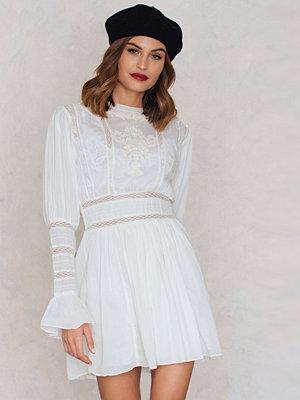 Free People Victorian Waisted Mini Dress