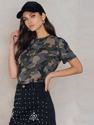 NA-KD Trend Army Basic Oversize Tee