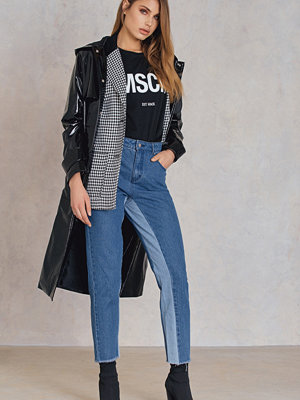 Qontrast X NA-KD High Waist Two Toned Jeans