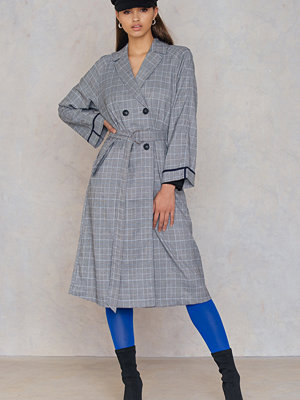 Dance & Marvel Plaid Trenchcoat
