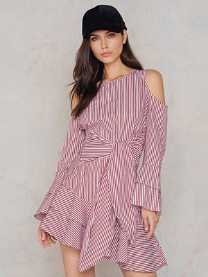 Hot & Delicious Cold Shoulder Wrap Dress