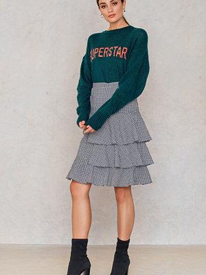Second Female White Ruffles Skirt