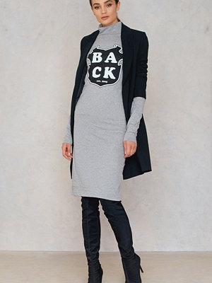 BACK Print LS Dress