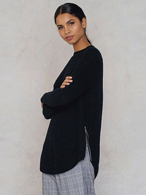 Dance & Marvel Mock Neck Sweater