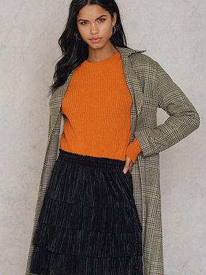 NA-KD Pleated Layered Skirt