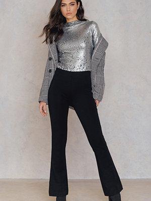 FWSS svarta byxor Pattern Trousers svart