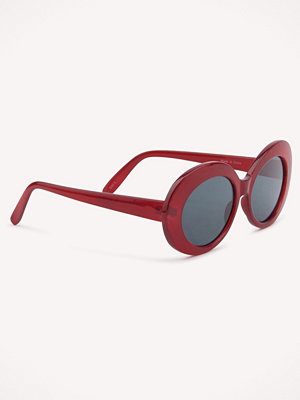 Solglasögon - NA-KD Accessories Oval Sunglasses