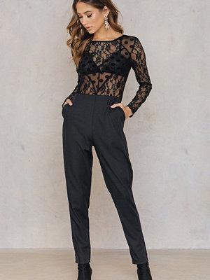 Jumpsuits & playsuits - Glamorous Lace Dot Jumpsuit