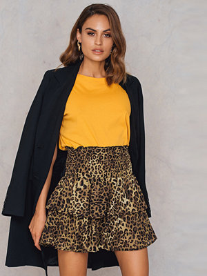 NA-KD Trend Double Layers Smock Skirt