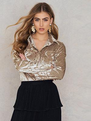 Rut & Circle Nataly Velvet Shirt