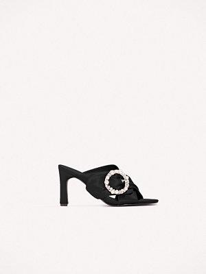 NA-KD Shoes Embellished Heeled Mule Sandals - Högklackat