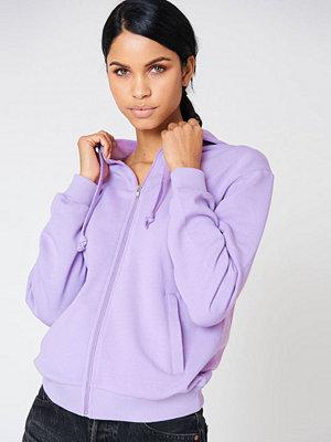 NA-KD Basic Basic Zipped Hoodie
