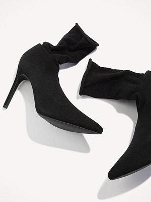 Boohoo Sock Pointed Boot