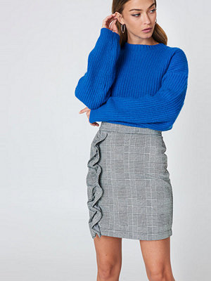 Saint Tropez Ruffle Check Skirt