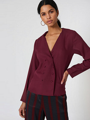 Rut & Circle Linn Blouse Jacket lila