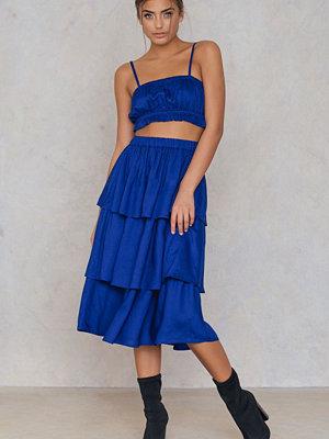 NA-KD Boho Triple Layer Skirt