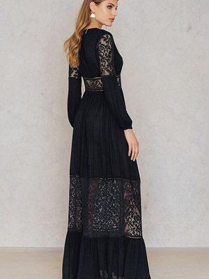 Boohoo Lace Maxi Dress
