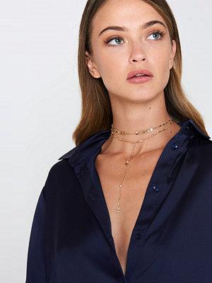 Ettika beige smycke In Harmony Choker Set