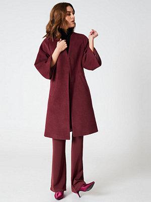 Hannalicious x NA-KD Kimono Sleeve Coat