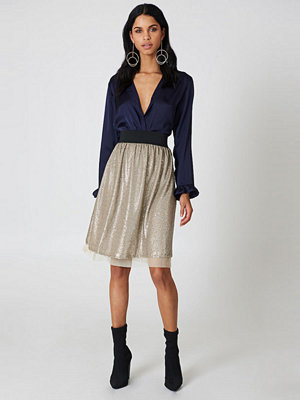 Free People Flashing Light Midi Skirt