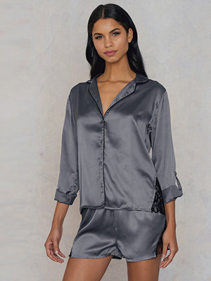 Rut & Circle Fedelia satin shirt