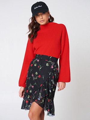 NA-KD Trend Mesh Overlap Mini Skirt