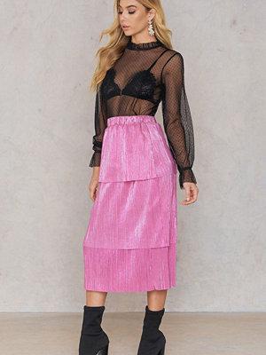 NA-KD Party Triple Layer Midi Skirt
