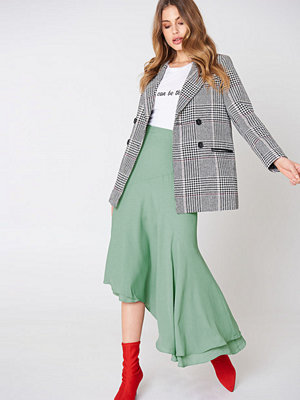 NA-KD Trend Asymmetric Block Skirt
