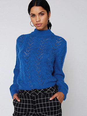 NA-KD Knitwear Sweater blå