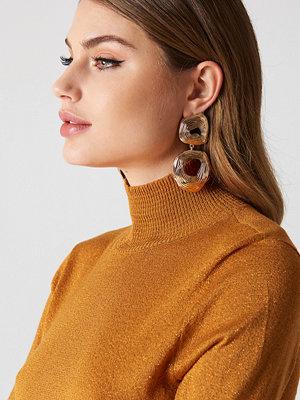 Tranloev Double Round Hanging Earrings - Smycken