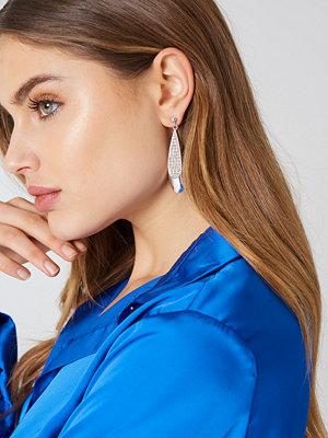 NA-KD Accessories örhängen Sparkling Teardrop Stud Earrings