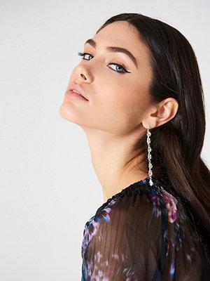 NA-KD Accessories smycke Diamond Strand Drop Earrings