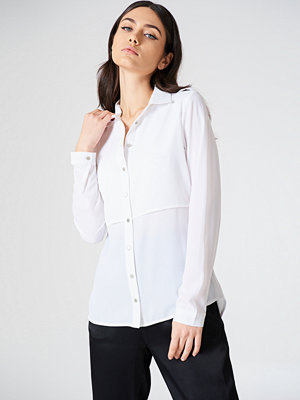 Rut & Circle Penny Shirt vit