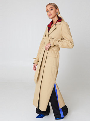 NA-KD Trend Ankle Trench Coat