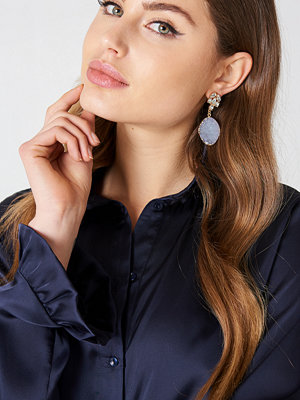NA-KD Accessories smycke Coloured Crystal Drop Earrings