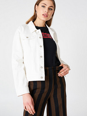 Jeansjackor - NA-KD Oversized Denim Jacket