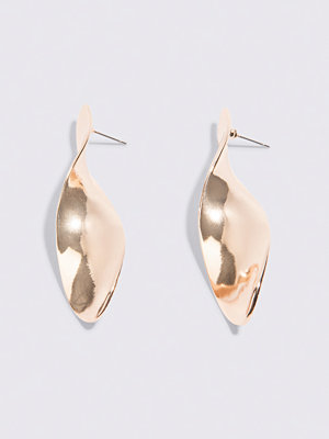NA-KD Accessories Twisted Drop Earrings - Smycken