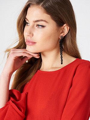 NA-KD Accessories smycke Long Beaded Drop Earrings