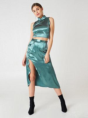 Glamorous Midi Slit Skirt