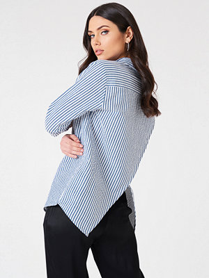 Rut & Circle Ella Back Open Blouse multicolor