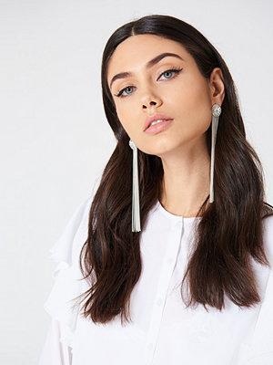 NA-KD Accessories smycke Diamond Chain Tassle Earrings