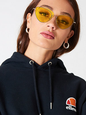NA-KD Urban Metal Frame Cat Eye Sunglasses - Solglasögon