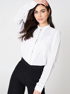 Rut & Circle Wilma Button Blouse